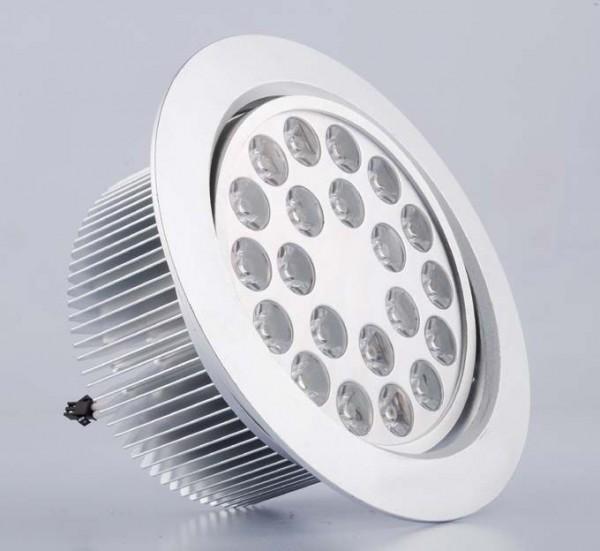21*1W LED Einbaustrahler, Deckenausschnitt Ø160mm