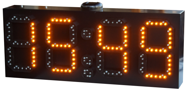LED GPS Uhr/ Temperatur/ Datum Anzeige, 15cm