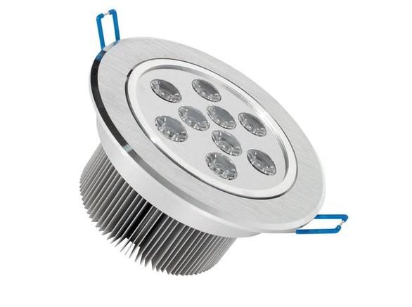 9*3W LED Einbaustrahler, Deckenausschnitt Ø118mm