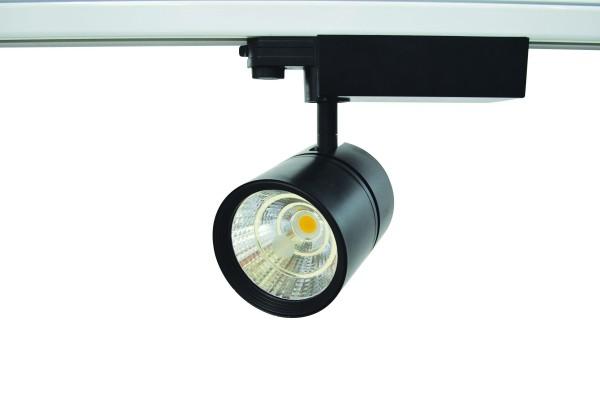 LED Schienenstrahler 30W, 3 Phasen Schienensystem
