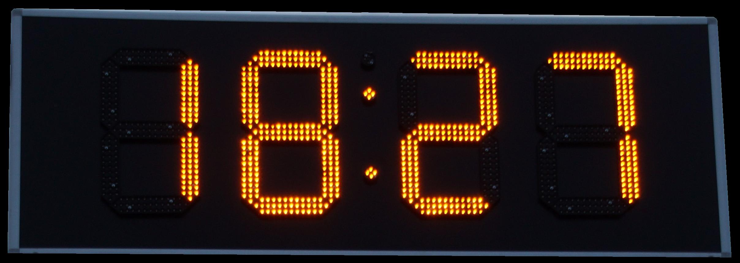 LED-Uhr-41-cm Elegantes Uhr Mit Temperaturanzeige Dekorationen
