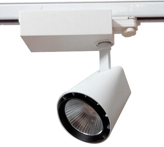 LED Schienenstrahler 20W, 3 Phasen Schienensystem