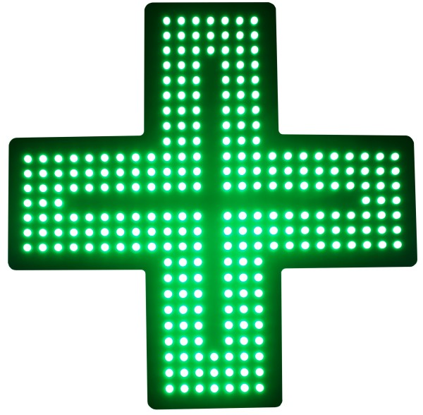 LED Apothekenkreuz Matrix 50cm