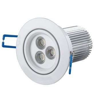3*3W LED Einbaustrahler, Deckenausschnitt Ø70mm