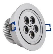 5*1W LED Einbaustrahler, Deckenausschnitt Ø92mm
