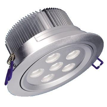 6*1W LED Einbaustrahler, Deckenausschnitt Ø92mm