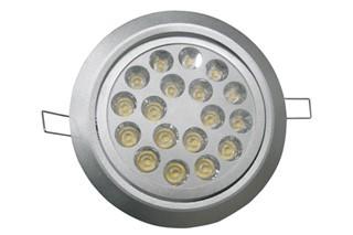 18*1W LED Einbaustrahler, Deckenausschnitt Ø139mm
