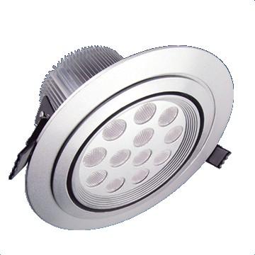 12*1W LED Einbaustrahler, Deckenausschnitt Ø118mm