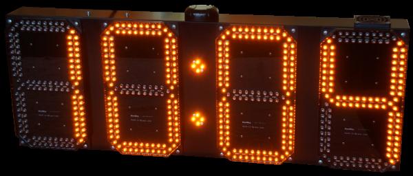 LED GPS Uhr/ Temperatur/ Datum Anzeige, 21cm